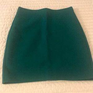 JCrew Pencil Skirt-Wool 4Petite-Green